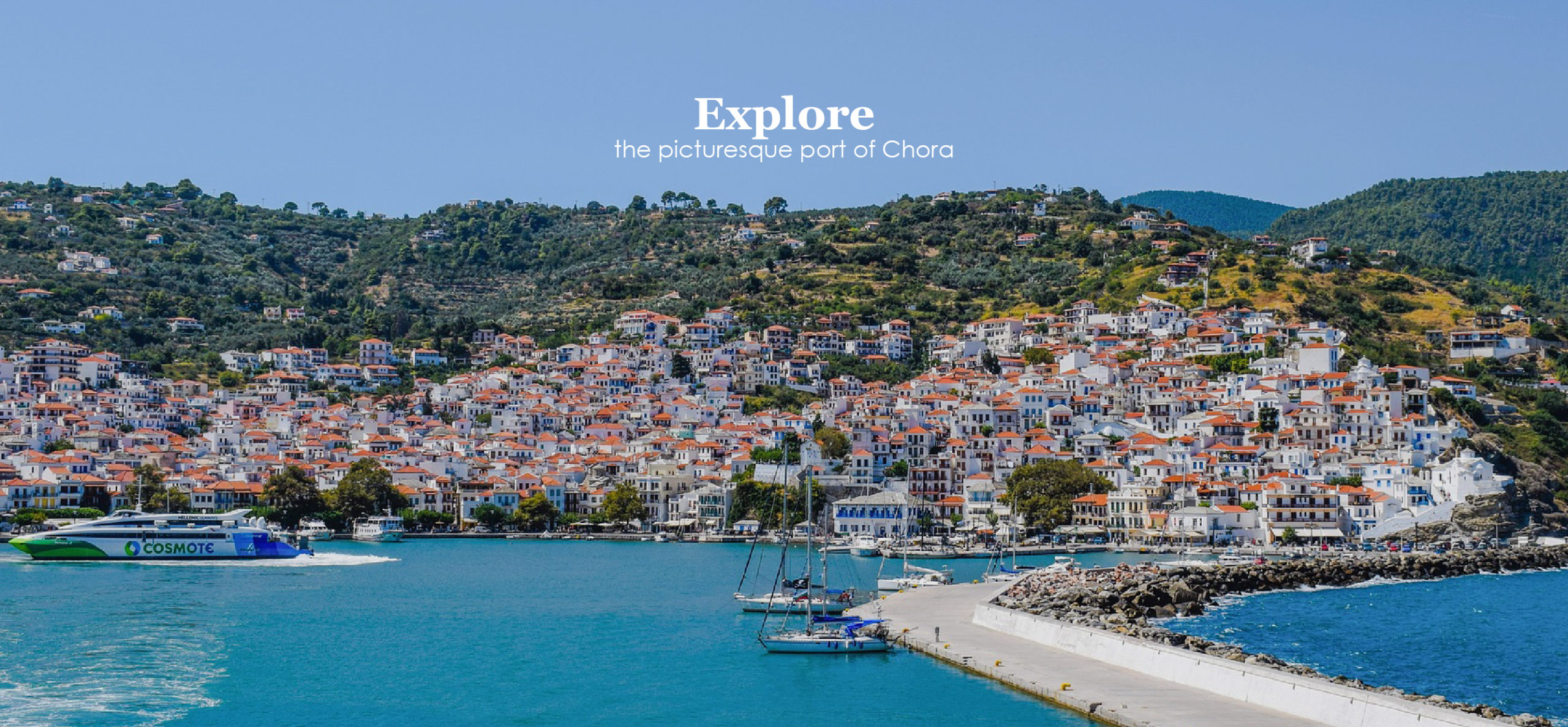 Welcome to Skopelos Holidays Hotel & Spa